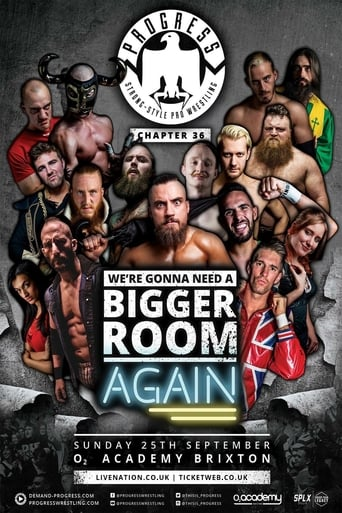 Poster of Progress Chapter 36: We're Gonna Need a Bigger Room... Again