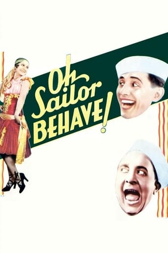 Poster of Oh, Sailor Behave!