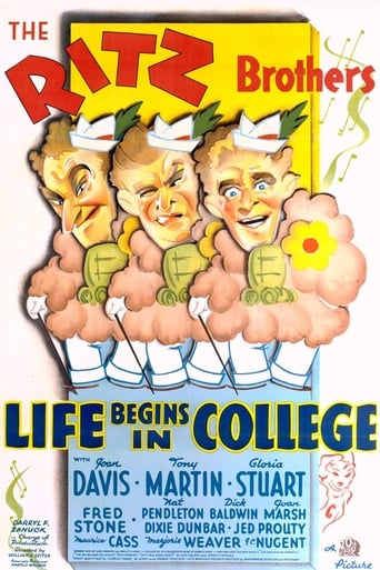 Poster of Life Begins in College