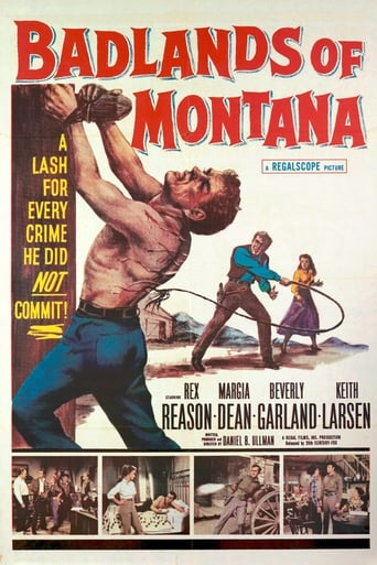 Poster of Badlands of Montana