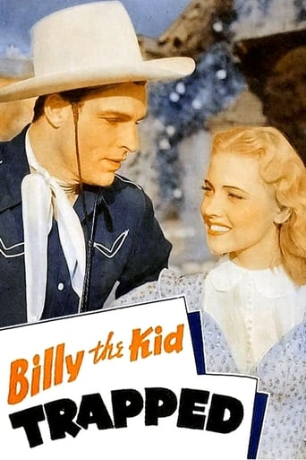 Poster of Billy the Kid Trapped