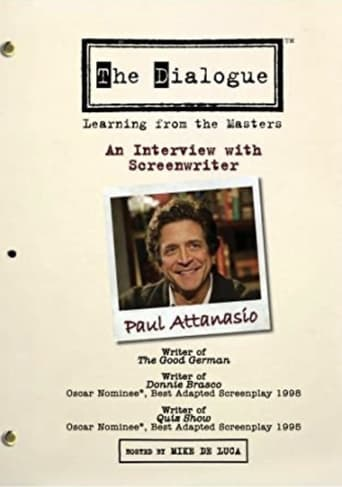 The Dialogue: An Interview with Screenwriter Paul Attanasio