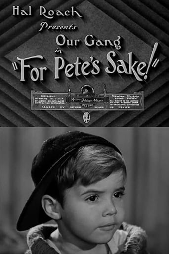 Poster of For Pete's Sake!