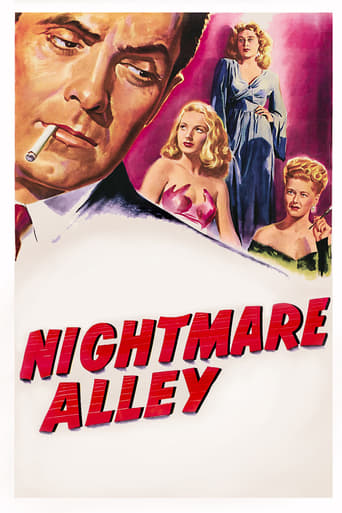 Poster of Nightmare Alley