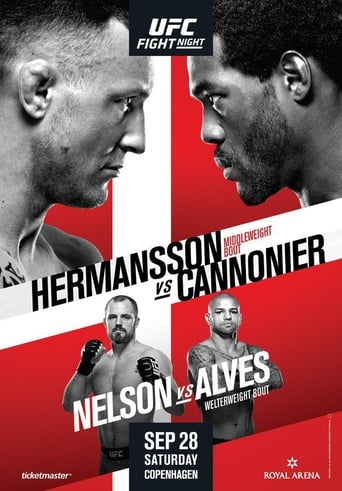 Poster of UFC Fight Night 160: Hermansson vs. Cannonier