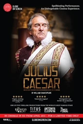 Poster of Julius Caesar: Shakespeare's Globe On Screen