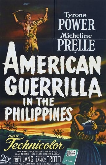 Poster of American Guerrilla in the Philippines