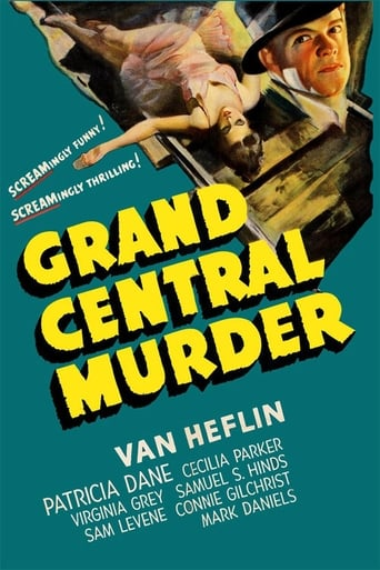 Poster of Grand Central Murder
