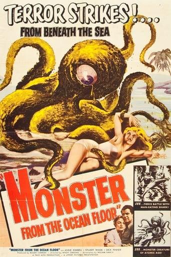 Poster of Monster from the Ocean Floor