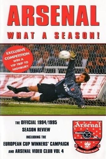 Watch Arsenal: Season Review 1994-1995 Online Free Movie Now