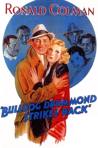 Poster of Bulldog Drummond Strikes Back