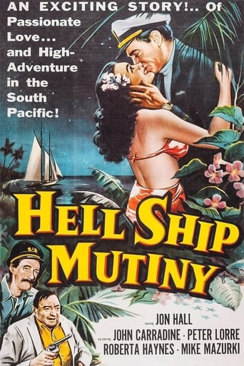 Poster of Hell Ship Mutiny