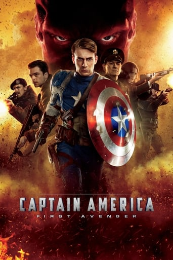 Poster of Captain America : First Avenger