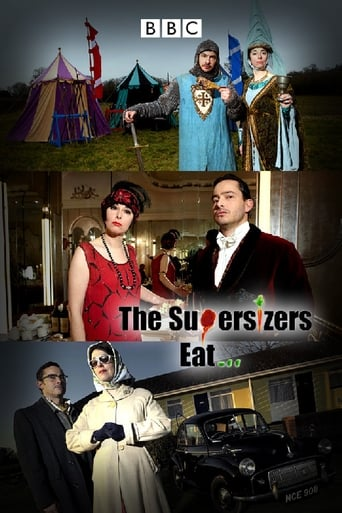 Capitulos de: The Supersizers...