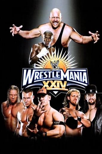 Poster of WWE WrestleMania XXIV