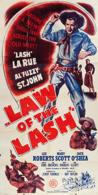 Poster of Law of the Lash