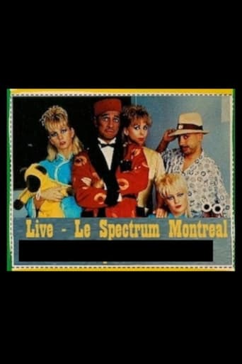 Poster of Kid Creole and the Coconuts: Live in Montreal