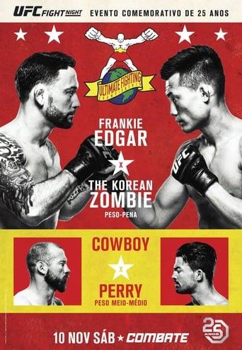 Poster of UFC Fight Night  139:  Korean Zombie vs Rodriguez