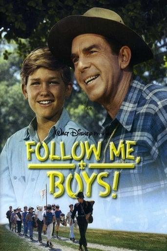 Kurt Russell Poster Follow Me, Boys!