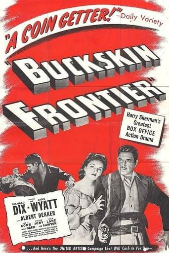 Poster of Buckskin Frontier