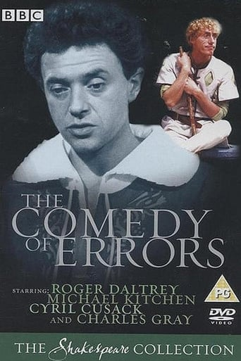 Poster of The Comedy of Errors