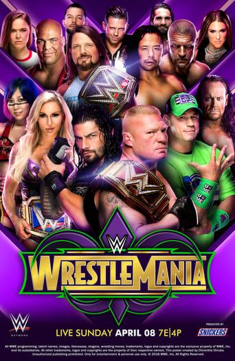 Poster of WWE WrestleMania 34