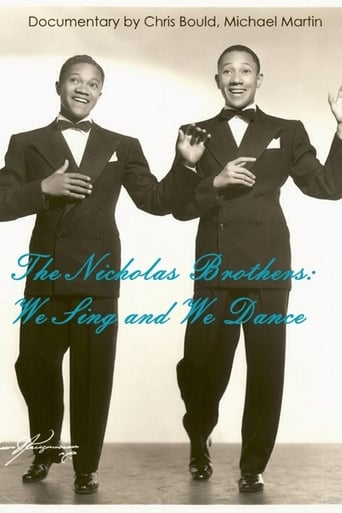Poster of The Nicholas Brothers: We Sing and We Dance