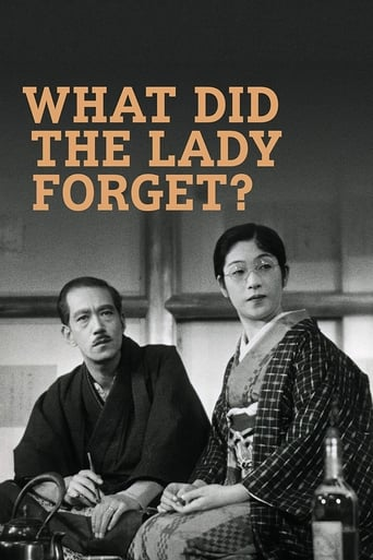 Poster of What Did the Lady Forget?