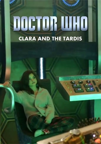 Poster of Doctor Who: Clara and the TARDIS