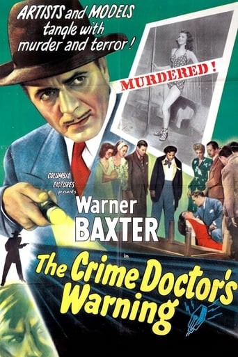 The Crime Doctor's Warning Movie Poster