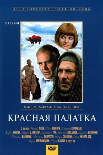 Poster of Красная палатка