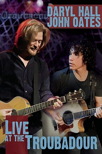 Poster of Daryl Hall and John Oates - Live at the Troubadour