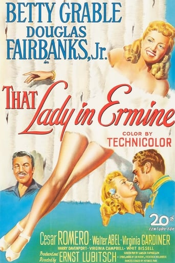Poster of That Lady in Ermine