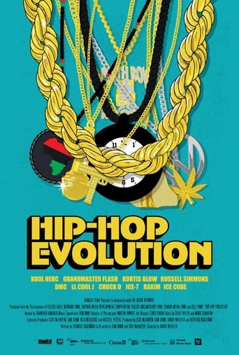 Poster of Hip-Hop Evolution