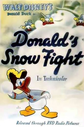 Poster of Donald's Snow Fight