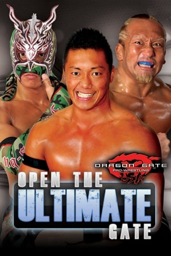 Poster of Dragon Gate USA; Open the Ultimate Gate