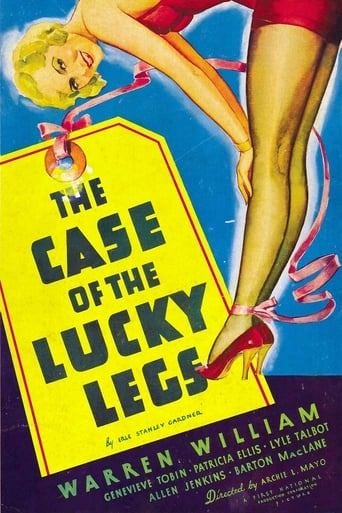 Poster of The Case of the Lucky Legs