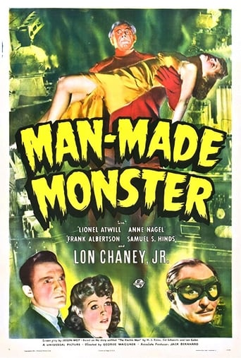 Poster of Man Made Monster