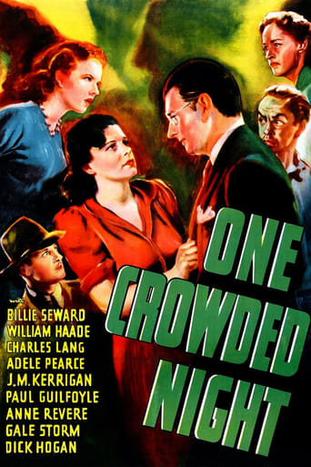 Poster of One Crowded Night