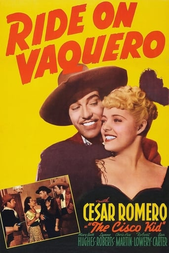 Poster of Ride on Vaquero
