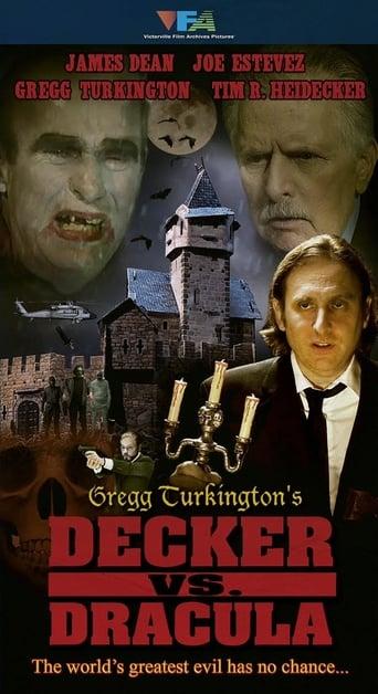 Poster of Decker Vs. Dracula