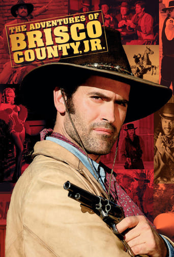 Poster of The Adventures of Brisco County, Jr.