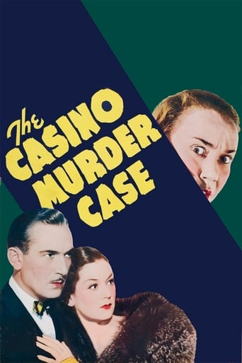 Poster of The Casino Murder Case
