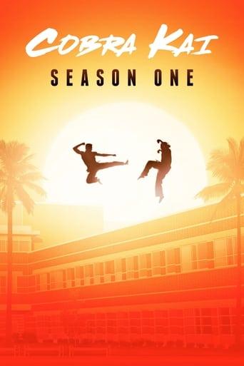 Cobra Kai 1ª Temporada - Poster