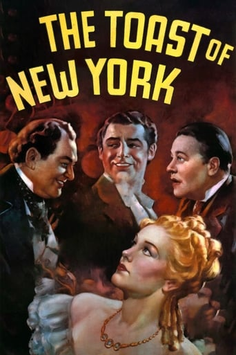 Poster of The Toast of New York