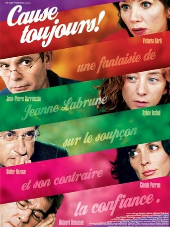 Poster of Cause toujours !