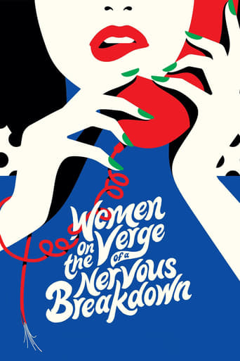 Women on the Verge of a Nervous Breakdown Poster