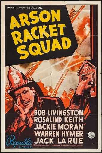 Poster of Arson Racket Squad
