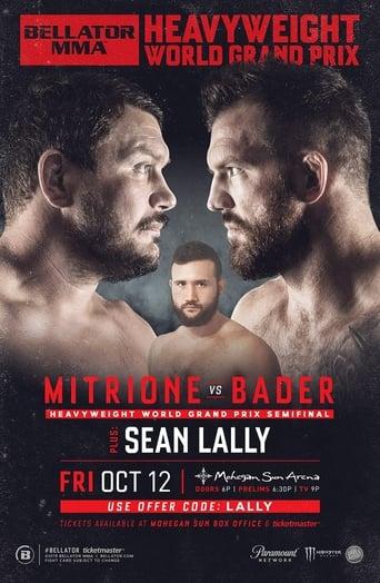 Watch Bellator 207: Mitrione vs. Bader Online Free Putlockers