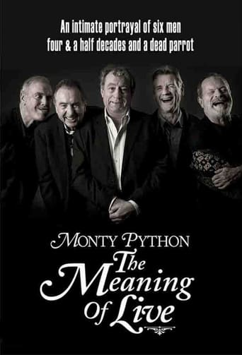 Poster of Monty Python: The Meaning of Live